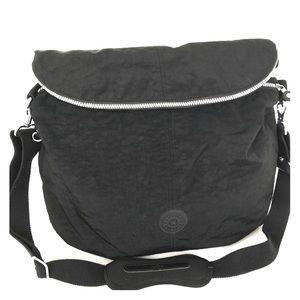 Kipling Black Nylon Travel Duffle Bag